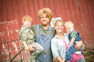 The Reinitz Family of East Henderson Farm.